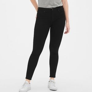 Gap•Black sculpt true skinny jeans NWT 29
